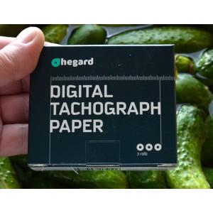 Papier do tachografu cyfrowego HEGARD