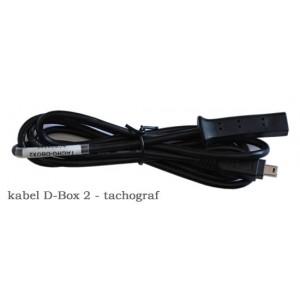 Kabel czytnika do tachografu